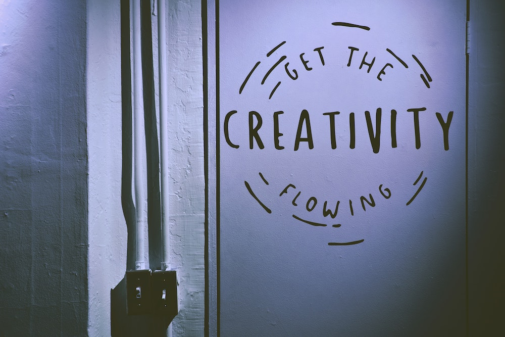 you're creative yes you, creativity