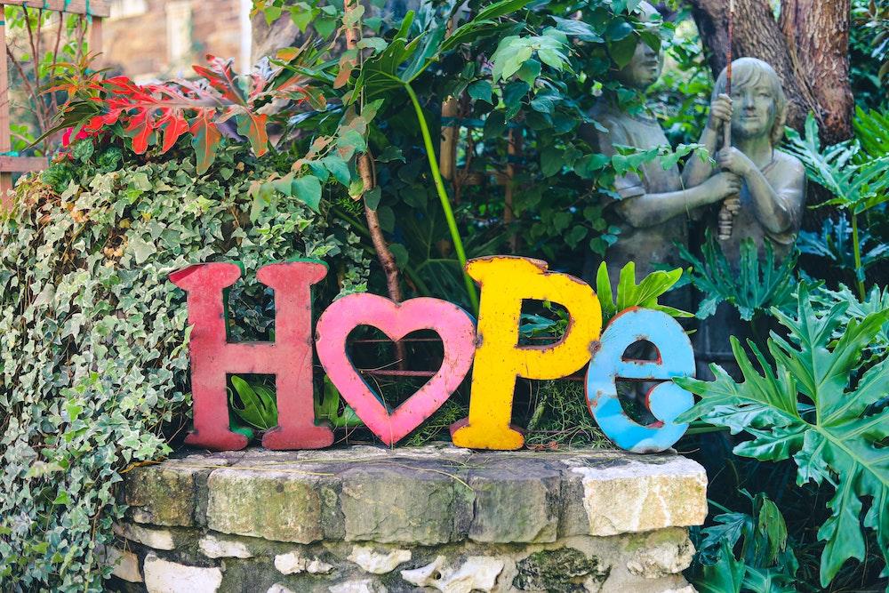 hope joy and beauty, hope