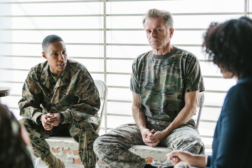 PTSD combat and stress diagnosis and treatment, stress, anxiety